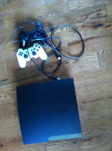 Ps3 brand new, 7 games installed on it comes with 1 controller.