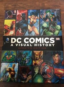 DC Comics A Visual History (DK books)