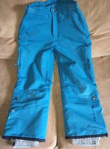 Junior Girls Ski Pants-size Medium