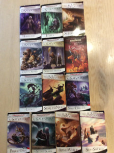 Legend of Drizzt Series 1-13