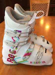 Botte ski alpin Rossignol junior fille