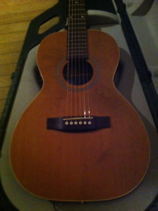 Parlor Size (Small) Seagull Acoustic Electric and Case