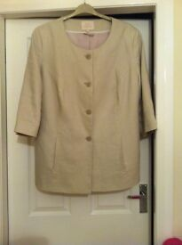 Anne Harvey linen jacket size 20