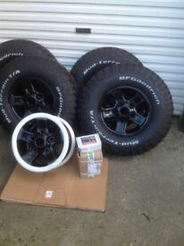 Landrover defender genuine boost alloys