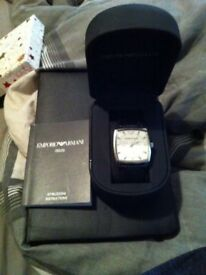 Genuine Emporio Armani Men's Watch
