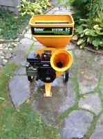 Baker 5hp  wood chipper/shredder