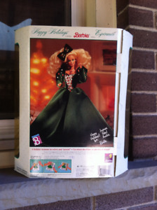 Barbie Doll Happy Holidays Special Edition In Box 1991