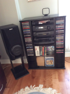 Sony Stereo System/Systeme Audio Sony