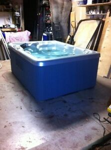 Beautiful two seater hot tub.