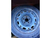 Skoda fabia Seat Ibiza VW Polo 14 inch Steel Wheels