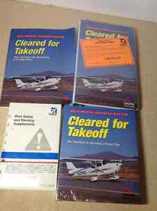 Cleared for Takeoff Multimedia Training System book and cd set Cambridge Kitchener Area image 1