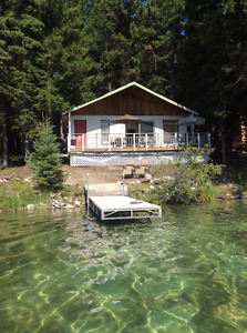 Waterfront Cabin on Beautiful Tyee Lake (near McLeese Lake), BC