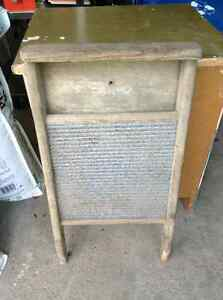 Antique wooden washboard for sale