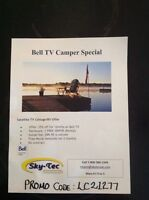Don't miss out on Bell Expressvu camper and cottage promo