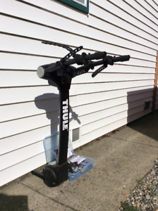 Thule bike rack and accessories