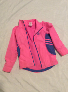Size 5 girl's Adidas athletic jacket