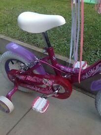 Raleigh Molly 14 inch bike , in very good condition.
