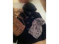Winter bundle - Coat/Bag/Scarf