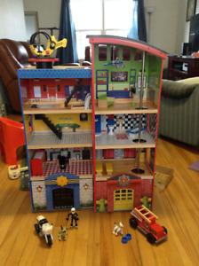 KidKraft Hometown Heros Wooden Play Set