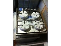 NEW-NEW** 4burner Gas Hob 60cm stainless steel Warranty Included SALE ON TODAY - Cookers,ovens,built