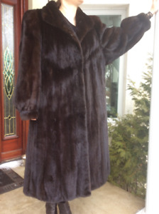 Manteau vison mink coat extralarge