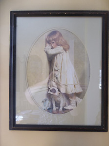 Style victorian picture