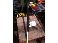 Long reach hedge trimmer /cutter