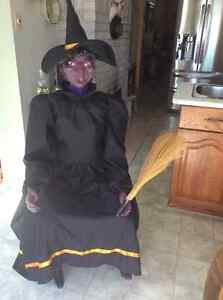 Halloween Life Size Witch for sale Peterborough Peterborough Area image 1