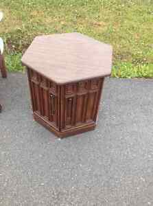 Table with two door