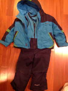 Columbia snowsuit 4t