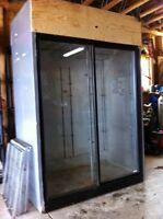 Cooler fridge for business
