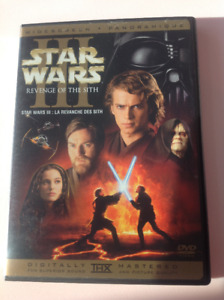 Star Wars III Revenge of the Sith DVD