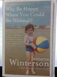SELLING Jeanette Winterson, Why Be Happy (Autobiography)