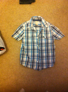 Joe fresh boys shirt size 6-7
