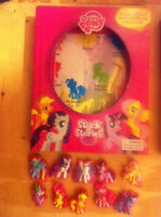 My Little Pony book w/suction cup pieces