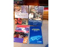 Selection of engineering and mechanic books