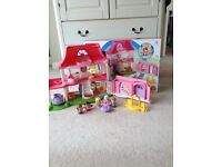 First Dolls House/ Little People Happy Sounds Home