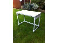 Vintage, extendable desk, table, shabby chic, upcycle, retro, country cottage french