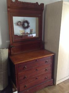 Antique Eastlake Dresser
