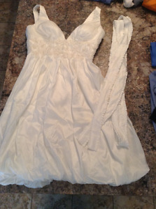 Unused Size 8 Wedding Dress