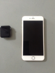 iPhone 6s Plus and Apple watch for sale