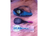 sqaush rackets balls bag