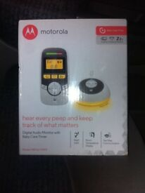 Motorola baby monitor (new)