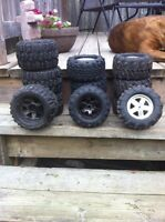 HPI Savage rims and tires