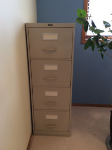 4 drawer office filing cabinet