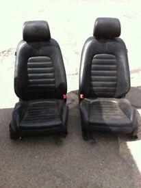 Vw passat b7 full black leather sport trim