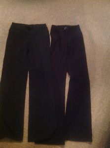 One pair of Lululemon groove pants size 6