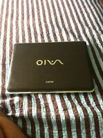 SONY VAIO BROWN SNAKE SKIN LAPTOP MINT