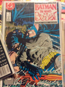 Batman and other titles comic collection