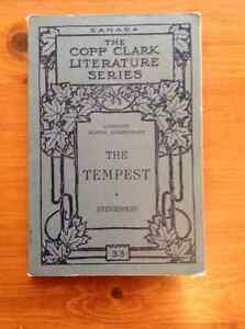 The Tempest - Shakespeare - Antique Book - 1927 - RARE